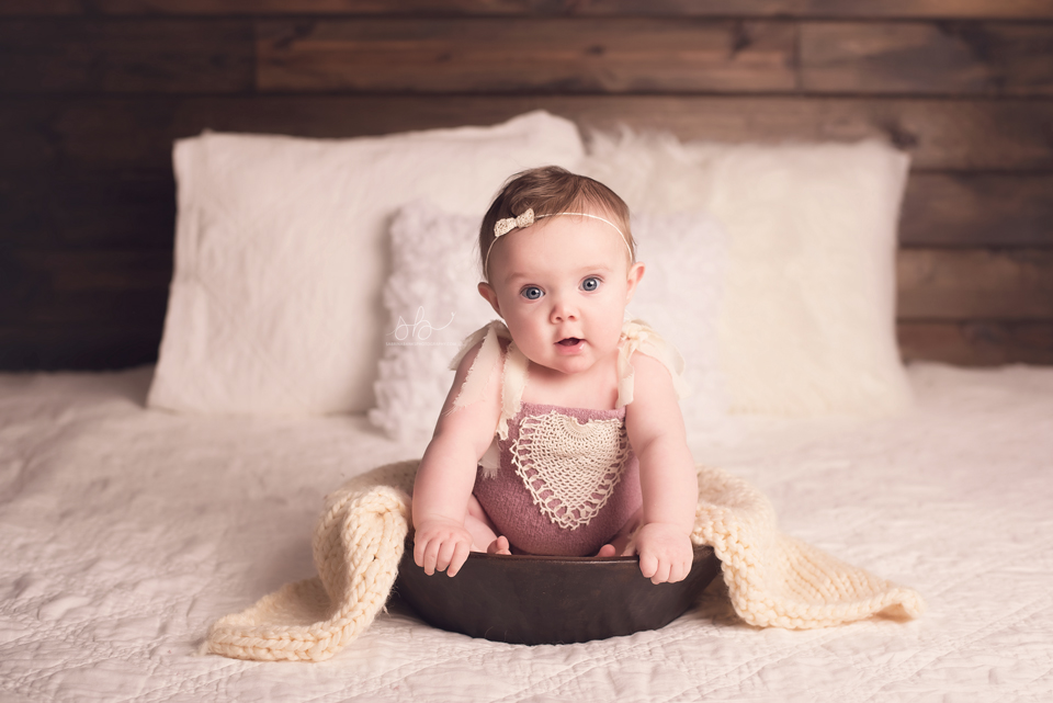 Roxy 6 Months | Centennial, CO Baby Photographer